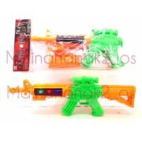 Mainan Anak Laki Senjata Pistol Laser Rocketeer Gun Light Sound Lampu