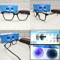 kacamata frame casual + lensa photocromic rubah warna