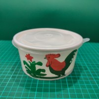 Paper Bowl 650 ML Ayam Jago (Nisuma) Isi 50pcs