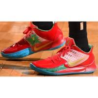 Sepatu Nike Kyrie 5 Spongebob SquarePants Mr Crab Red Green Blue