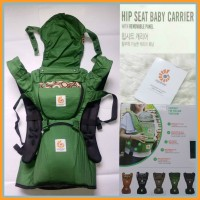 Gendongan Ergo Baby Hip Seat Green River Rock