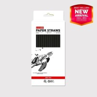 Paper Straw - Full Black