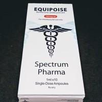 EQUIPOISE / BOLDENONE UNDECYLENATE SPECTRUM PHARMA 300 MG 10 AMPUL