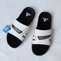 sendal adidas nitrocarge casual slide sangat empuk sandal adidas - Merah, 39
