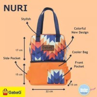 Gabag Cooler Bag Nuri / Tas Pendingin ASI