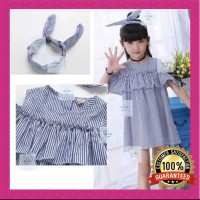 Dress Anak Perempuan / Baju Anak Perempuan Import / Best Seller! - 110