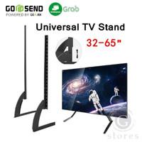 Universal TV Stand Bracket Dudukan 32 - 65 Inch Adjustable Height