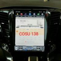 Anti Gores Premium Head Unit Model Tesla Mitsubishi Pajero Sport