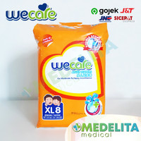 Popok Dewasa Unisex Size XL isi 8 / Adult Diapers Tape type - WECARE