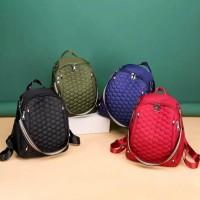 Tas Ransel Wanita / Tas Ransel Backpack Korea / Tas Multifungsi Wanita