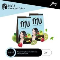 NYU CREME HC NATURAL BLACK - 2 pcs