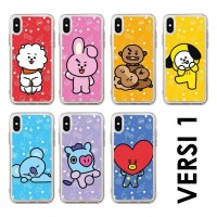 SOFTCASE BT21 FOR XIAOMI REDMI 4A 4X 5 5A 5 PLUS 6 6A 7 7A / BTS CASE