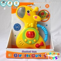 Mainan Musikal Anak Gitar Jerapah Mainan Anak Menarik Dan Unik
