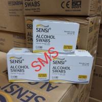 Alcohol Swabs Sensi/Tissu Alkohol