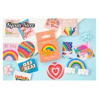 44 Pcs Sticker Deco Seal Project Rainbow Bujo DIY Scrapbook Journal