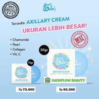 EVER WHITE SMOOTH AXILLARY CREAM/KRIM WHITENING/PEMUTIH KETEK/LIPATAN - SMALL - 15 gr