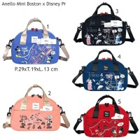 Tas Anello Mini Boston Disney Mickey Mouse Premium Tas Wanita 2 Fungsi