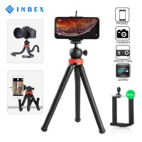 INBEX Tripod Octopus Paket VLOG Mini Hp Flexible Holder U Tripod