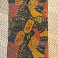 Kain Batik Solo Bahan Doby Warna Sogan Lasem-Laseman Koleksi Gusbatik