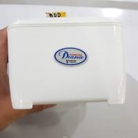 Tempat Tissue Diana Tantos | Kotak Tissue | Tempat Tissue Putih Tisu