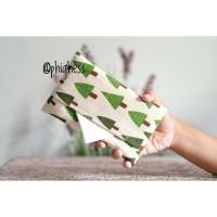 Tissue Pouch Motif Cemara / Tempat Tissue / Free Tissue/ Souvenir