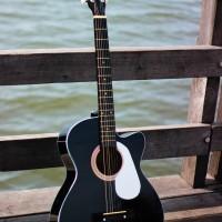 gitar akustik yamaha bonus tas senar