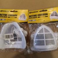masker Krisbow active carbon KW1000303