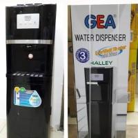 Dispenser Galon Bawah GEA Halley Low watt Compressor