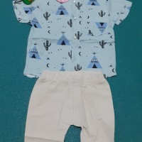 setelan pakaian anak import utk usia 2 sd 4 tahun