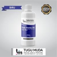 Tinta Stempel Flash/Premium Stamp Ink (100ml) - BIRU/BLUE
