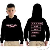 Hoodie Sweater Kill This Love BlackPink - Anak
