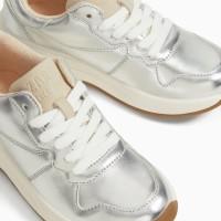 Zara Kids Metallic Sneakers