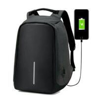 Tas Ransel USB port charger / Smart Backpack Anti Air Anti Maling