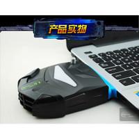 Vacuum Cooler Laptop Fan usb Vacum cooler Pendingin laptop Notebook - Hitam