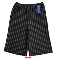 Celana Kulot Salur/Stripe Dewasa 7/8 Pendek Bahan Scuba