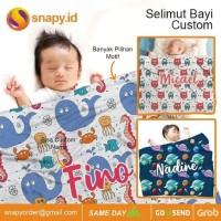 Cetak Selimut Blanket Baby Custom