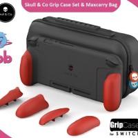 SKULL & CO Grip Case Set & Maxcarry Bag Nintendo Switch Body MARI