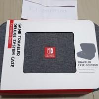 Nintendo Switch Portable Travel Hard Case Protective Bag Grey