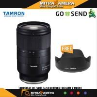 ORIGINAL Tamron 28-75mm F2.8 Di III RXD Lens for Sony E resmi
