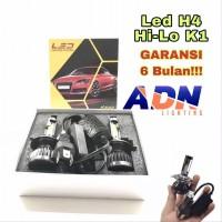 Lampu LED Utama H4 Hi Lo K1 Premium Plasma GARANSI 6 Bulan ADN SET