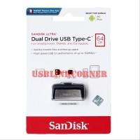 Flashdisk SanDisk OTG Type C 64gb USB 3.1 Up To 150MBps