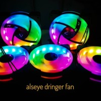 fan case alseye d-ringer auto rainbow - fan casing gaming alseye