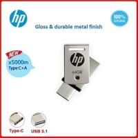 HP X5000M USB 3.1 TYPE-C A 64GB Flash Drive Flash Disk HP OTG Ty