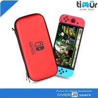 Tas Airfoam Pouch Dompet Case Travel Bag Nintendo Switch Merah