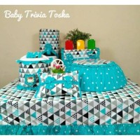 Homeset/ gkm set / taplak meja / cover galon motif minimalis baby