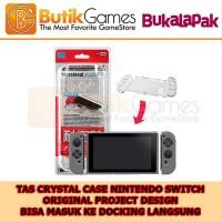 Tas Crystal Case Transparant Mika Casing Slim Nintendo Switch