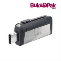 Flashdisk OTG SanDisk Ultra Dual USB Drive Type-C 64gb