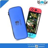 Tas Airfoam Pouch Dompet Case Travel Bag Nintendo Switch Biru