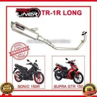 Proliner TR 1R Long Sonic 150R Supra GTR 150 Knalpot Racing Origina