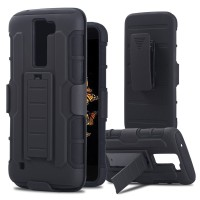 Hybrid Hardcase with Belt Clip Future Armor Impact Case LG K10 F670
